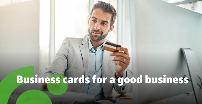 Business cards and EFTPOS service