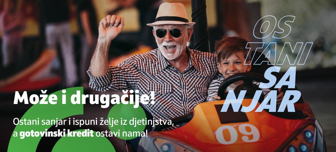 Gotovinski kredit za umirovljenike u EUR
