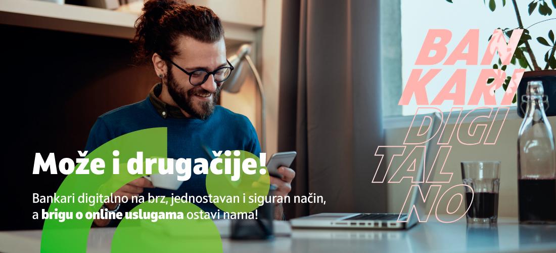 Ugovorite OTP internet i mobilno bankarstvo