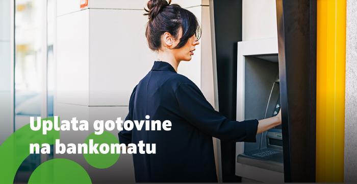 BNA - usluga uplate gotovine na bankomatu