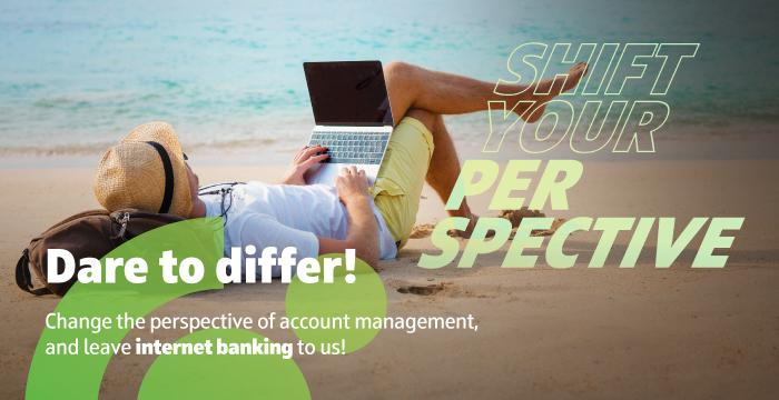 Internet banking for retail customers