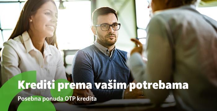 Posebna ponuda kredita OTP banke