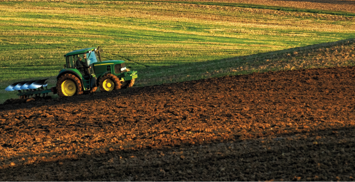 Loan for the purchase of agricultural machinery