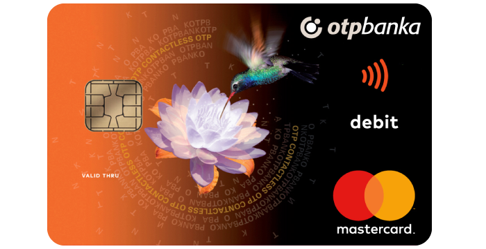 Mastercard contactless debitna kartica