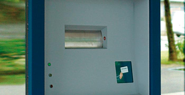 Night safe deposit box