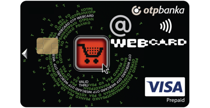 Visa web prepaid kartica