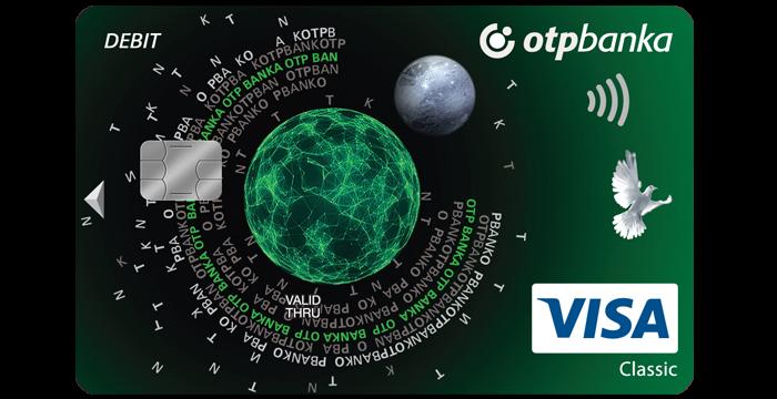Visa Classic debit card